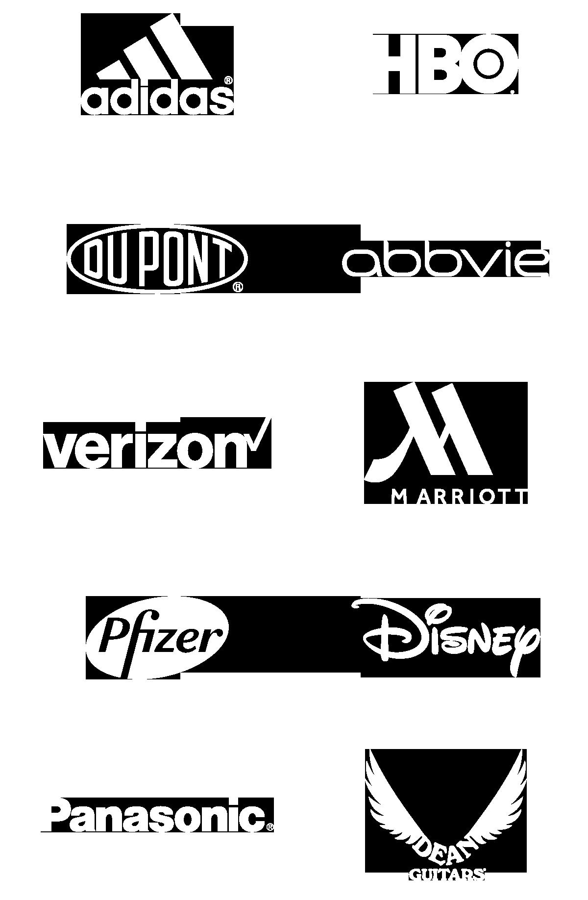 Quantum Design Lab Client Logos