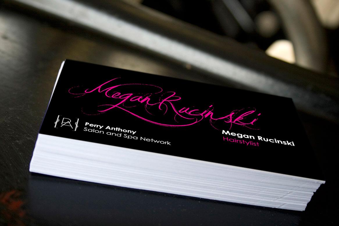 Megan Rucinski (Business Cards)