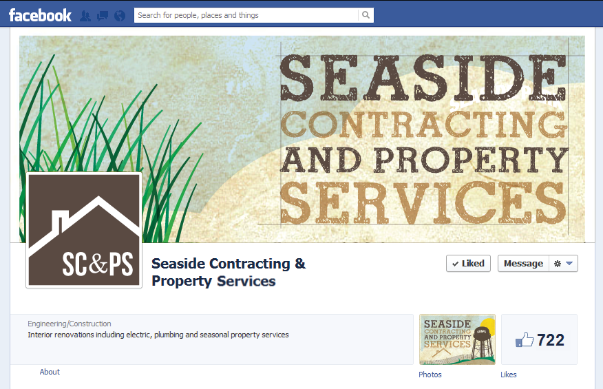 Seaside Contracting & Property Services (Branding & Signage)