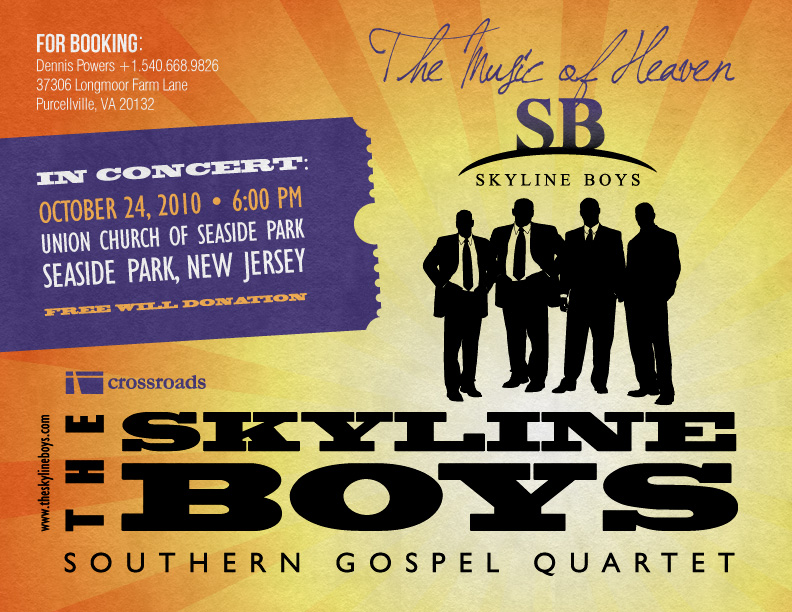 The Skyline Boys (Concert Announcement)