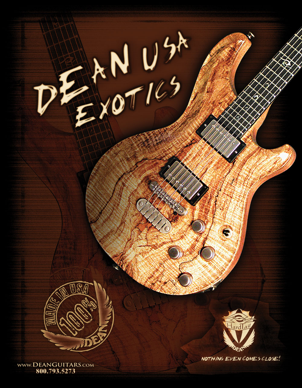 Dean Guitars Magazine Ad