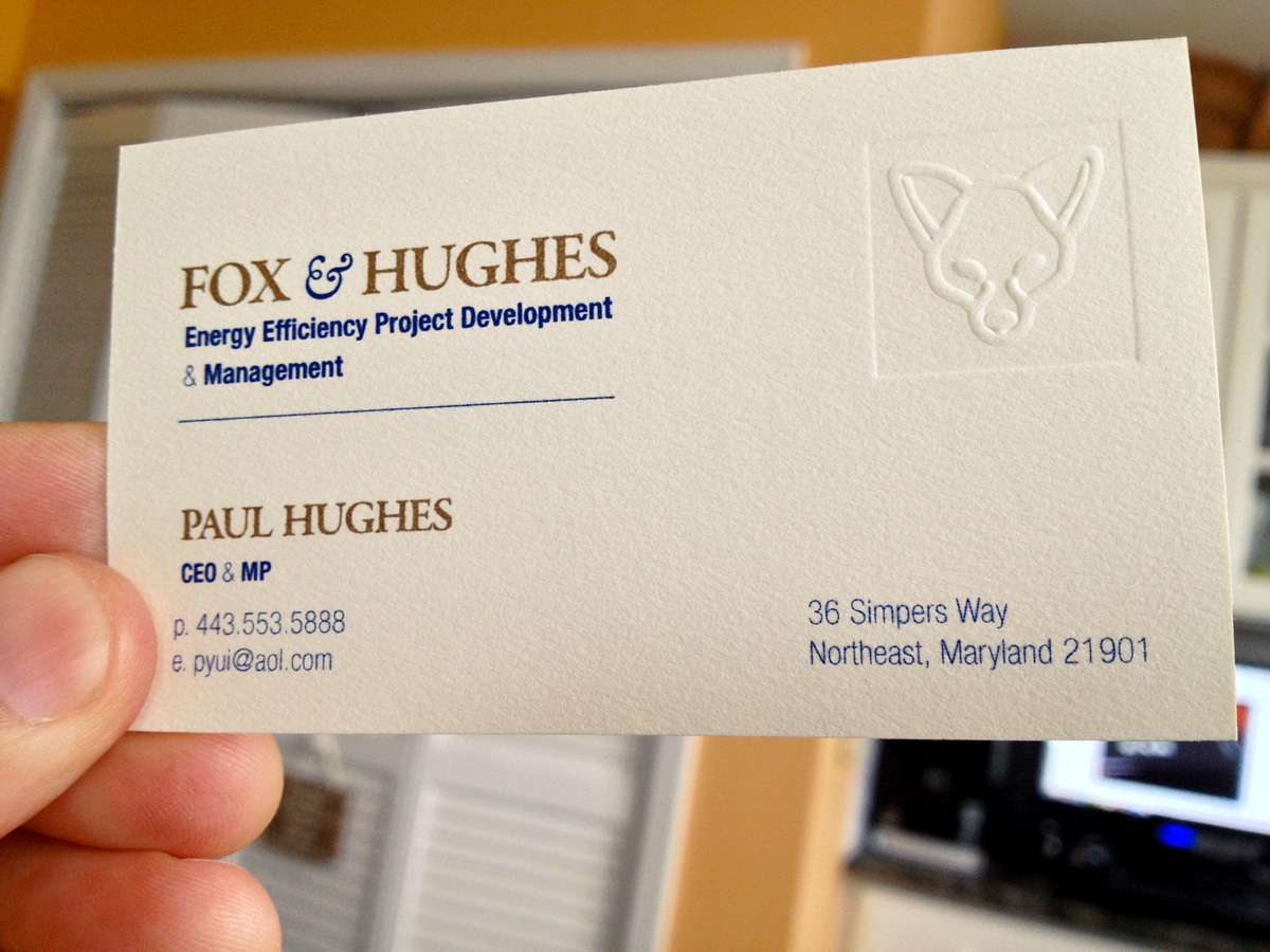 Fox & Hughes (Business Cards)
