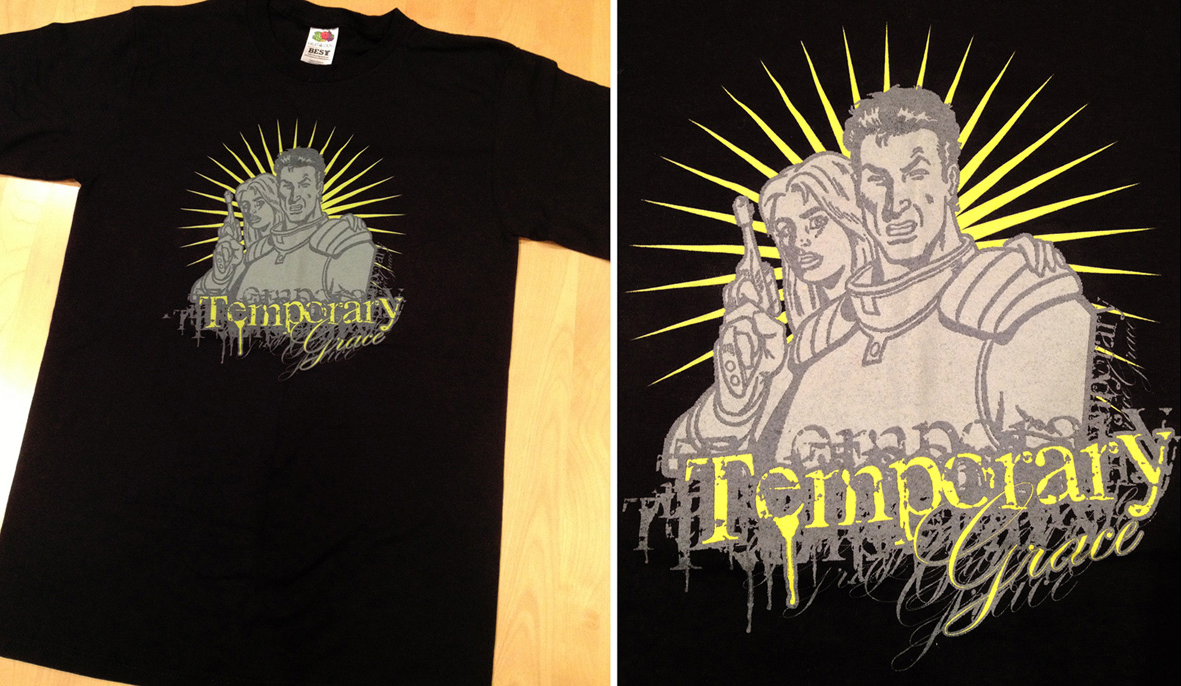 Temporary Grace (Band Apparel)