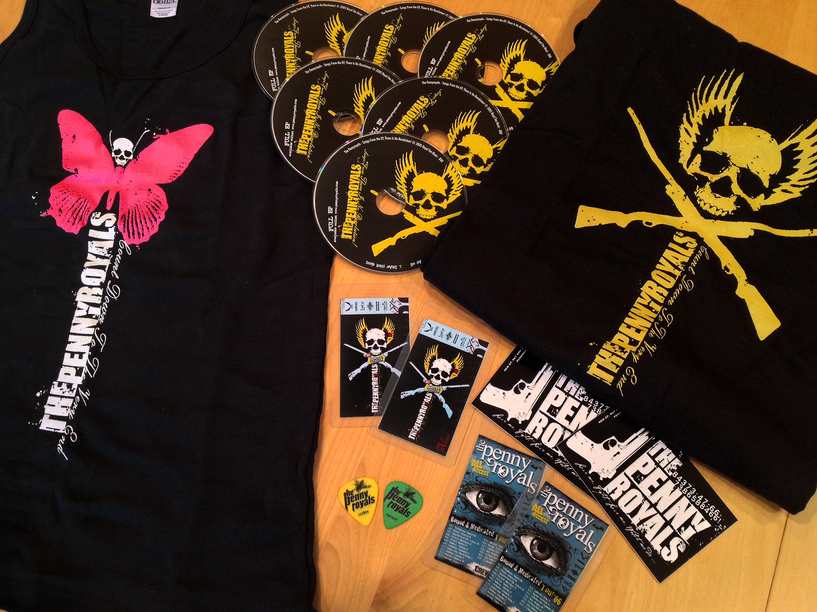 The Pennyroyals (Band Merchandise)