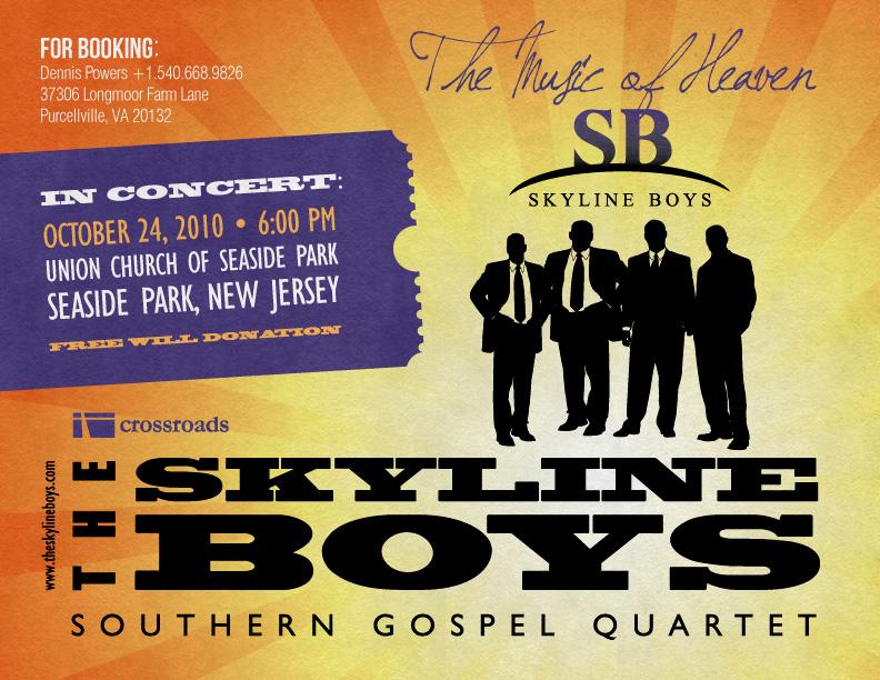 Skyline Boys Concert Announcement