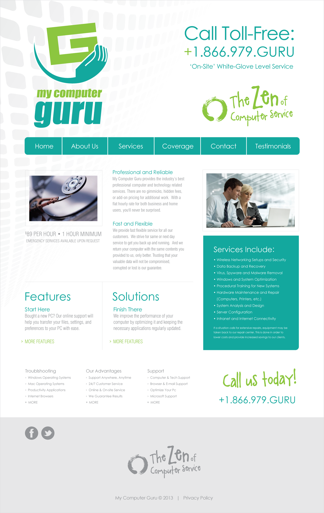 My Computer Guru - Website