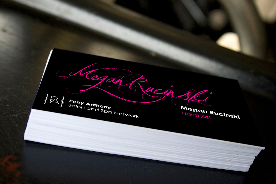 Megan Rucinski - Business Card
