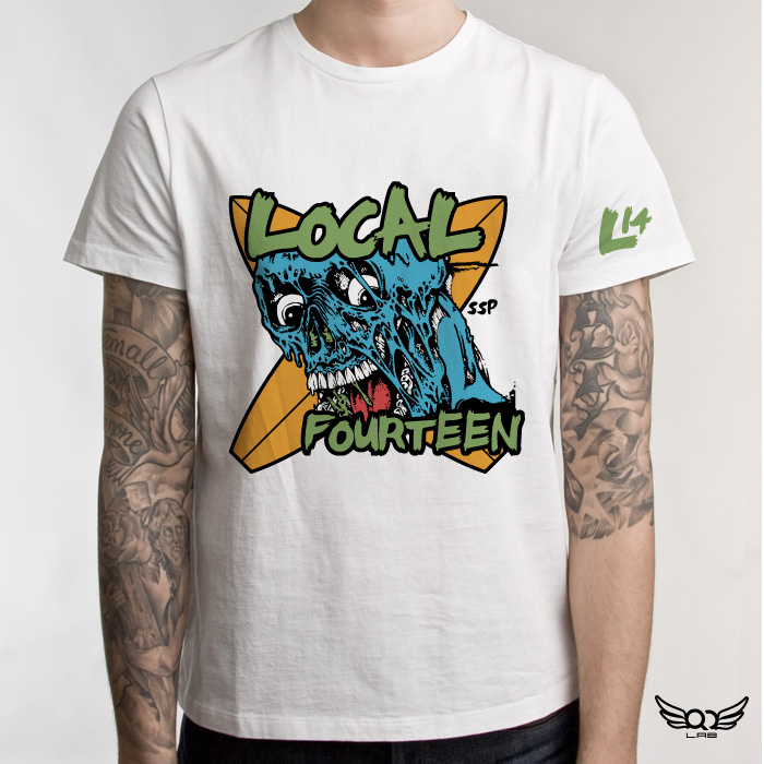 Local 14 - L14 - Illustration and Apparel